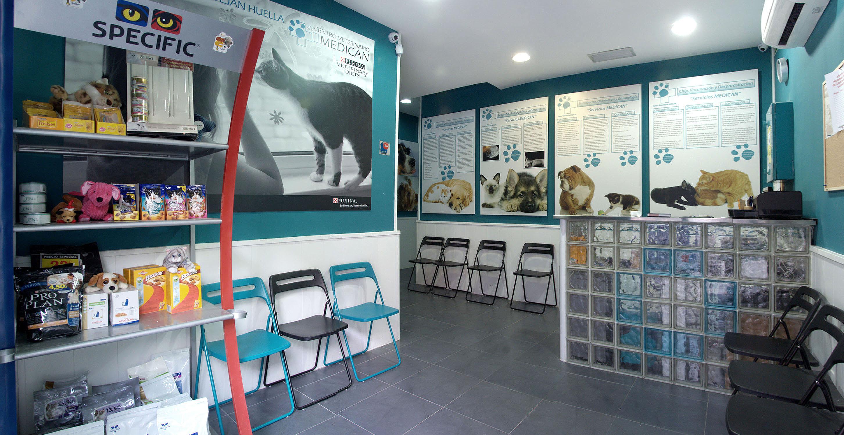 Clínica veterinaria de urgencias en Madrid